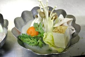 豆乳鍋(御前崎漁港 天然ぶり)